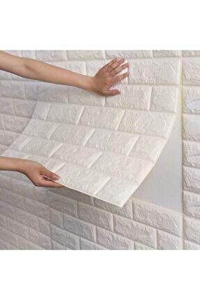 Kendinden Yapışkanlı Beyaz Duvar Paneli 3d