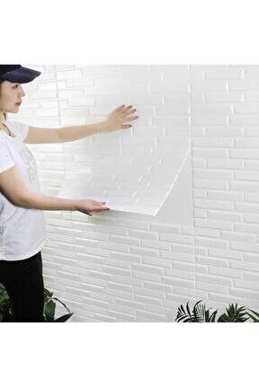 Yapışkanlı Duvar Paneli 8,5 Mm 77x70 Cm Opak 3d Duvar Kağıdı