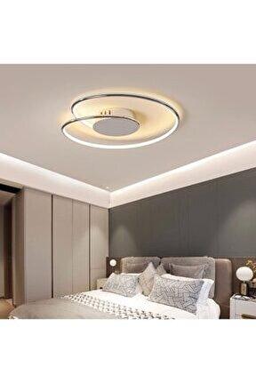 A+ Modern Plafonyer Power Led Avize Concept Ürün Krom Beyaz Işık