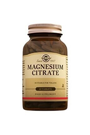 Magnesium Citrate 200 Mg 60 Tablet