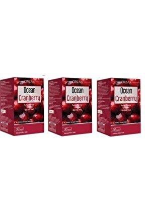 Ocean Cranberry 30 Kapsül 3 Adet