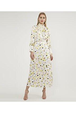 Puantiyeli Elbise V42870156