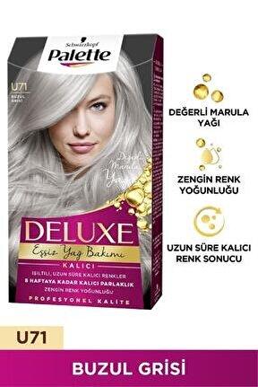 Deluxe U71 Buzul Grisi Saç Boyası