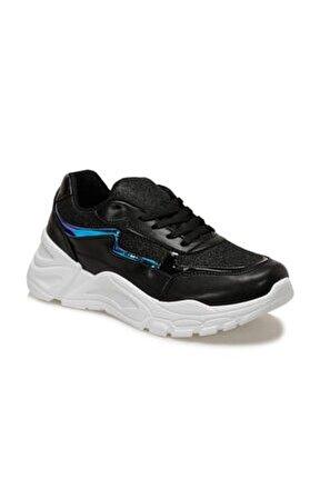 20sf-1000 Siyah Kadın Sneaker Ayakkabı