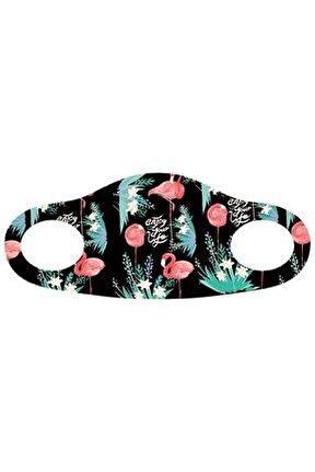 Noon NN7028 Kadın Baskılı Maske