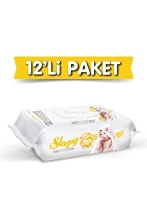 Sensitive Islak Havlu 12'li Paket - 1080 Yaprak