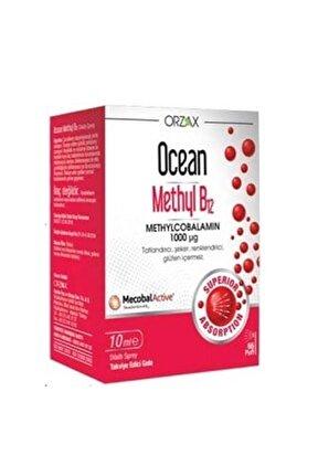 Ocean Methyl B12 10 ml - Takviye Edici Gıda