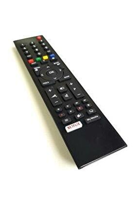 Beko Altus Grundig Smart Lcd Led Tv Televizyon Kumandası Netflix Tuşlu