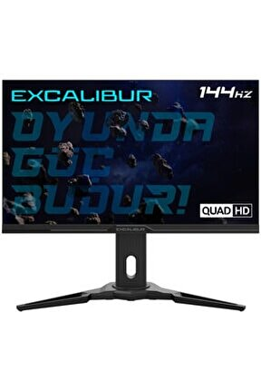 "Excalibur E27qhd-g 27"" 1 Ms 144 Hz 2k Qhd Led Monitör"