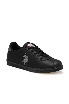 U.s Polo Assn. Tabor Wt 9pr 100422468 Kadın Erkek Günlük Spor Ayakkabı Siyah 36-40