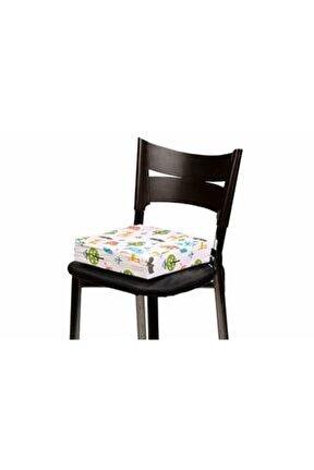 - Yükseltici Mama Sandalyesi Minderi - Sevimli Hayvanlar