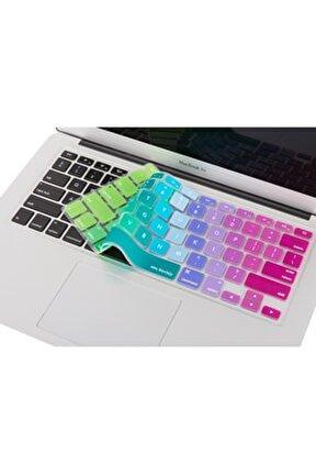 Macbook Air Pro Klavye Koruyucu Silikon 13inc 15-17inc Ingilizce Klavye Ustipli A1466 Dazzle 1006