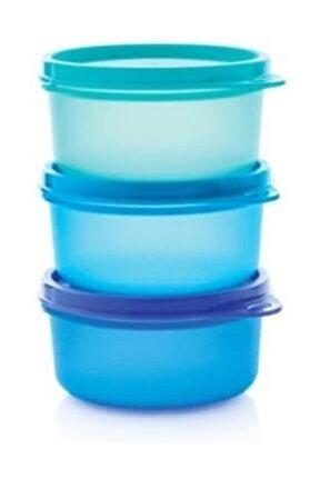 Şeker Üçüzler Yeni Renk Saklama Kabı 3x250 ml