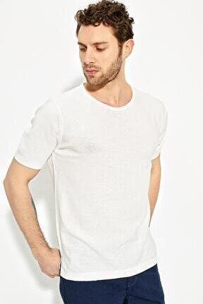 Erkek Bisiklet Yaka Oversize Triko T-shirt 20s404