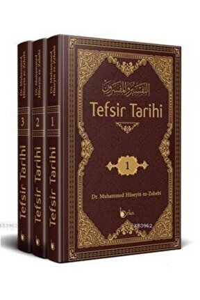 Tefsir Tarihi (3 Cilt - Takım); Et-tefsir Ve'l-müfessirin Tercüme