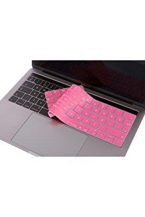 """Macbook Pro Klavye Koruyucu A1706 A1989 A2159 13"""" A1707 A1990 15"""" Türkçe Baskı Type-c Girişli 1223"""
