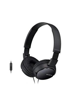 MDR-ZX110APB Siyah Kulaküstü Mikrofonlu Kulaklık