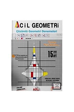 Tyt Ayt Acil Geometri Çözümlü Geometri Denemeleri Acil Yayınları 15 Tyt 15 Ayt Denemesi