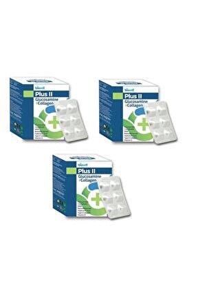 Plus Iı Glucosamine + Collagen 60 Kapsül 3 Adet