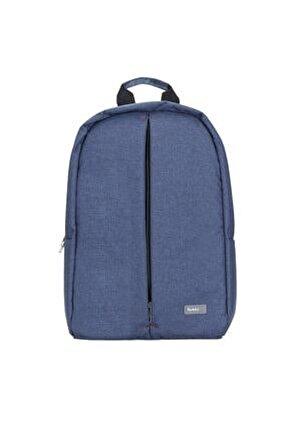 Austin 15.6 Inç Notebook Laptop Sırt Çantası Mavi
