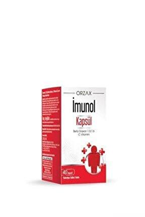 Imunol Takviye Edici Gıda 40 Kapsül