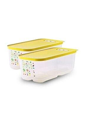 Tupperaware Sera Buzdolabı Saklama Kabı (2 X 6.1 Lt )