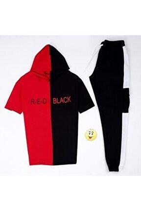 Aynı Butikte 2. Ürün 1 Tl Red Black T-shirt Eş Kargo Beyaz Es442