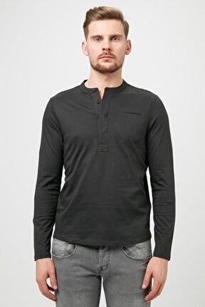 Erkek Siyah Sweatshirt 74H6336575Z