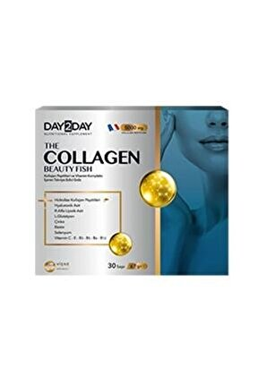 Day 2 Day Collagen Beauty Fish (30 Saşe)