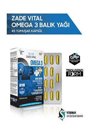 Premium Omega 3 Forte Balık Yağı 45 Yumuşak Kapsül - Blister