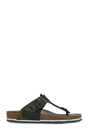 Medina Bf Erkek Haki Sandalet 1015516