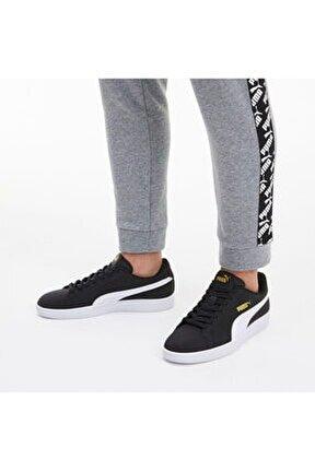 Smash V2 Buck Siyah Erkek Sneaker Ayakkabı