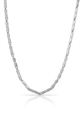 Erkek Gümüş Çelik Kolye Tmj30371-471-a