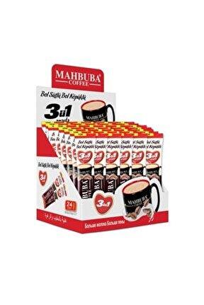 Mahbuba Bol Sütlü Bol Köpüklü 3ü1 Arada Kahve 24x18gr Stick