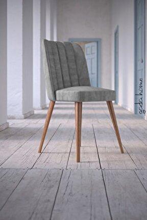 Arven Kare Gold Sandalye (4 Adet)