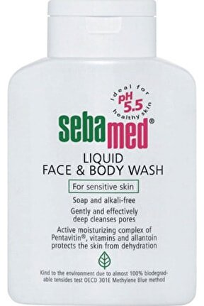 Liquid Face And Body Wash 1 lt