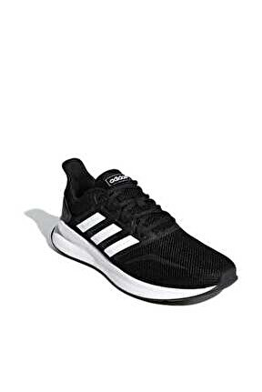 Erkek Siyah Koşu Ayakkabısı Runfalcon