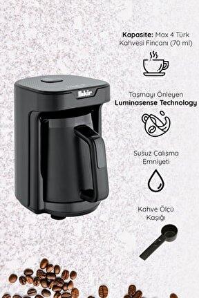 Kaave Mono Otomatik Türk Kahve Makinesi Siyah
