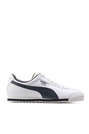 ROMA BASIC Beyaz Lacivert Erkek Sneaker 100126098