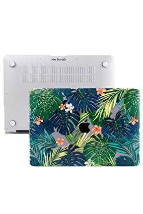 Macbook Pro Kılıf 13inc Hardcase A1706 A1708 A1989 A2159 A2251 A2289 A2338 Kılıf Flower01 1426