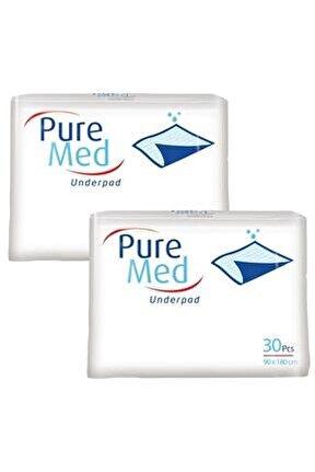 Pure Med Köpek Çiş Pedi 60 X 90 Cm - 60 Adet