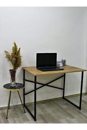 Çalışma Masası 60x90 Cm Bilgisayar Masası Ofis Ders Yemek Masası Çam