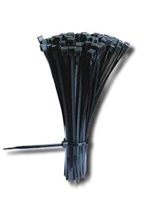 Siyah Kablo Bağı Plastik Cırt Kelepçe 2,5 x 150 mm 100 Adet