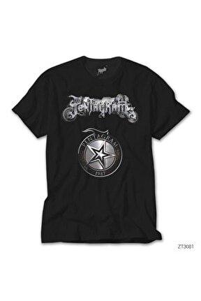 Pentagram 1987 Siyah Tişört