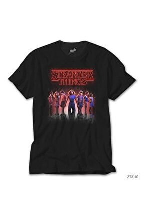 Stranger Things The New Siyah Tişört