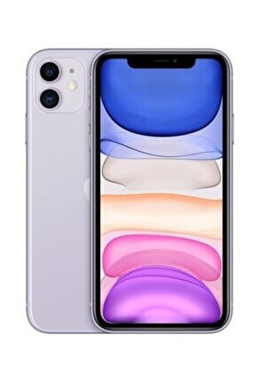 iPhone 11 64GB Mor Cep Telefonu (Apple Türkiye Garantili) Aksesuarlı Kutu
