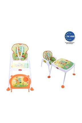 Pocket & Mama Smart Giraffe - Çalışma Masalı Mama Sandalyesi
