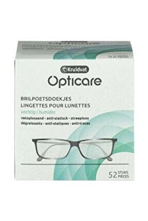 Opticare Gözlük Temizleme Mendili 52 Adet 8719179147721