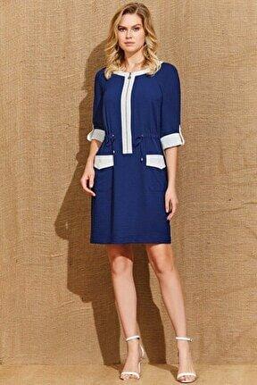 Kadın Lacivert Elbise 21041