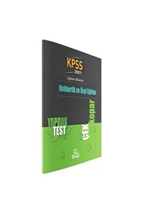 2021 Kpss Eğitim Bilimleri Rehberlik Ve Özel Eğitim Yaprak Test Beyaz Kalem